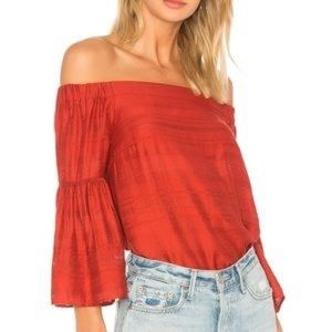 1.State Womens Blouse Top Kenya Off-The-Shoulder